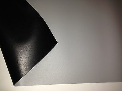 """58"""" X 100"""" Grey """"STRETCHABLE"""" Front High Contrast Projection Screen Material"""