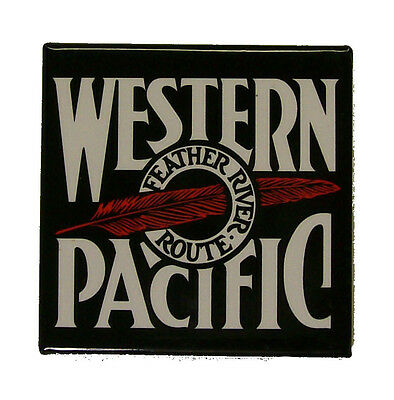 Western Pacific Railway Railroad Magnet #58-1510B