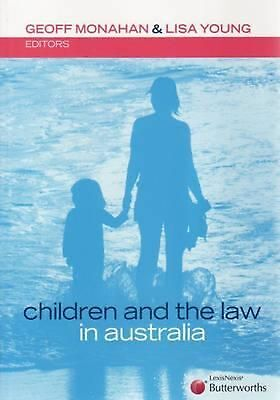 Children and the Law in Australia by Lisa Young Paperback Book