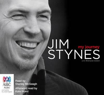 My Journey by Jim Stynes Compact Disc Book