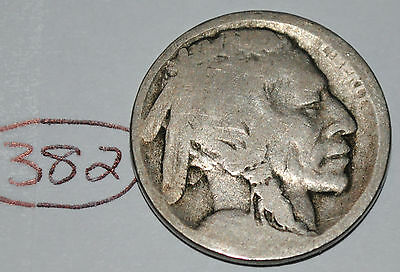 United States 1913 D Type 1 Buffalo Nickel USA Indian 5 Cents Nice Coin Lot #382