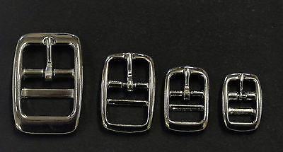 Caveson Buckles Nickel Plated 10mm 13mm 16mm 20mm 25mm Webbing Straps x2 x5 x10