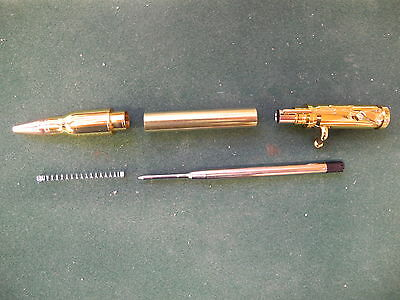 Woodturning BOLT ACTION Pen Kit in Gold
