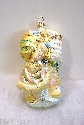 Slavic Treasures Ornament Baby's First Christmas MIB NO TAG (S5)