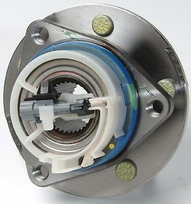 Unitized Front Wheel Hub Bearing Assembly with W/ABS L or R w/ Stainless Clip