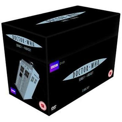 """Doctor Who Complete Season 1-4 Collection 23 Disc Dvd Box Set R4 """"New&Sealed"""""""