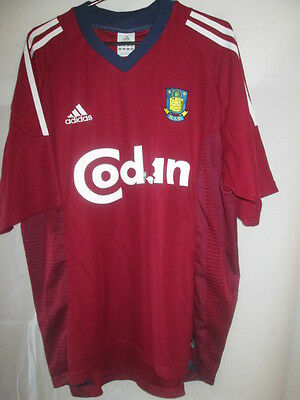 Bondby BIF 2002-2004 Away Football Shirt Size Large /21867