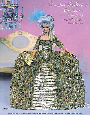 Paradise Vol 79, 1775 French Queen's Court Costume crochet patterns