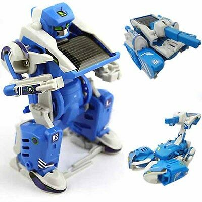 3 In 1 Solar Toy Robot Tank DIY Educational Assembly Kit