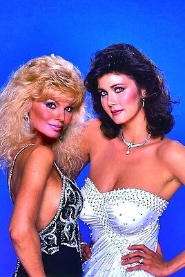 "Loni Anderson Lynda Carter glamour pose photo picture portrait 4""x6"" sexy busty"