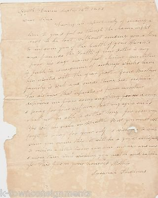 North Haven Ct Butternut Ny Family Parents Near Death Letter To Daughter 1832