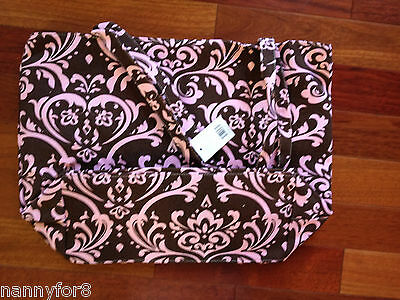 1 New Personalized Canvas Bag Tote Purse Lined & Top Zipper Closure  Inside Pock