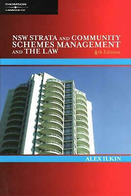 NSW Strata and Community Schemes Management and the Law by Alex Ilkin Paperback