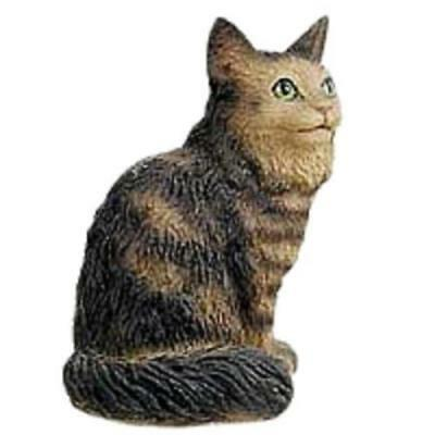 CTN17 Brown Tabby Maine Coon Cat Tiny One Figurine