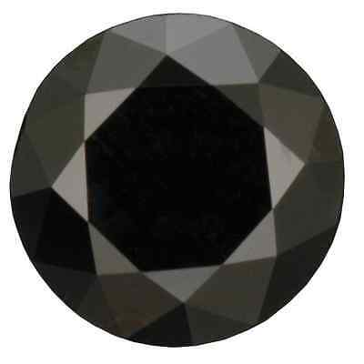 Natural Fine Black Spinel - Diamond Cut Round - Madagascar - Aaa Grade
