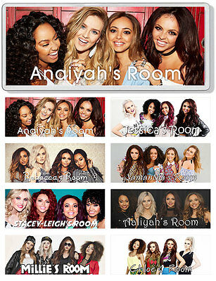 Little Mix Personalised Bedroom Door Plaque / Sign *ANY NAME / MESSAGE*