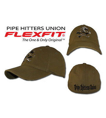 Pipe Hitters Union Flag Skull Hat Subdued
