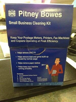 Pitney Bowes small business cleaning kit