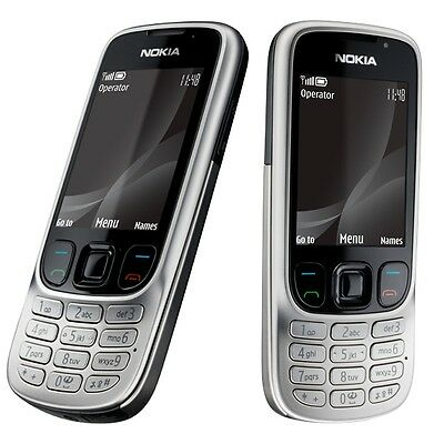 Nokia 6303i Unlocked Phone 3MP Slim FM Bluetooth GSM TriBand