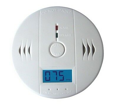 HOT SELL CO Carbon Monoxide Poisoning Gas Sensor Alarm Detector  JKD602