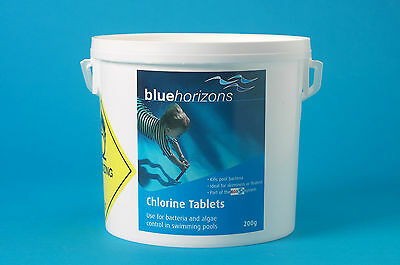 5kg Large Chlorine Tablets 200g - Swimming Pool Chemicals