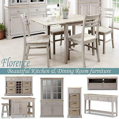 FLORENCE extending kitchending table & chairs, console table, sideboard, dresser