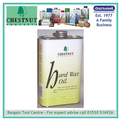 CHESTNUT PRODUCTS HWO1 Hard Wax Oil , 1 litre