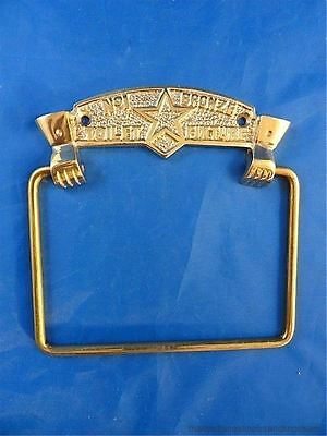 TRADITIONAL ANTIQUE STYLE No1 TOILET FIXTURE BRASS TOILET ROLL HOLDER WALL MOUNT • CAD $30.09