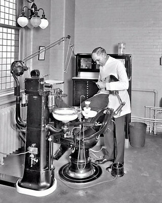 1924 Dentist Office Photo 8X10  Dental Instruments Wash DC  Buy Any 2 Get 1 FREE