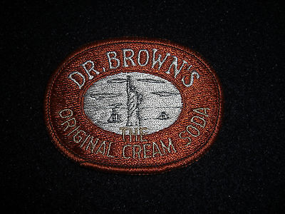 "Vintage Dr. Brown's ""The Original Cream Soda"" Patch"
