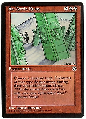 An-Zerrin Ruins 1x carte Magic Homelands ENGLISH CARD EXC