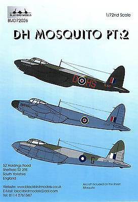 NEW Barracuda Studios BC 32268 1:32 de Havilland Mosquito external stencils