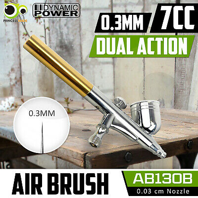 Airbrushes Dual Action Spray Gun Kit 0.3 Air Brush Beauty Paint Art Cake Tattoo