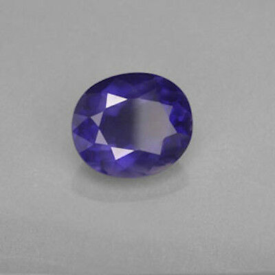 Oval Faceted Genuine Purple Bllue Iolite (4x3mm to 9x7mm)