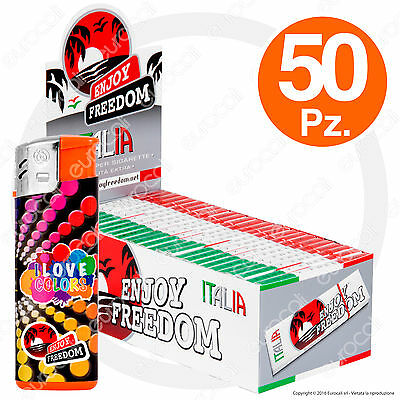 Cartine ENJOY FREEDOM CORTE 50 pz Small Size ITALIA - 1 Box