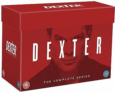 """Dexter Complete Series 1-8 Collection 33 Disc Dvd Box Set R4 """"new&sealed"""""""
