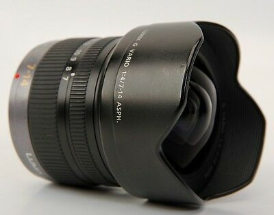 Panasonic LUMIX G VARIO 7-14mm f/4 ASPH. Excellent ! from Japan
