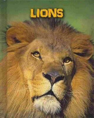 Lions by Claire Throp (English) Library Binding Book Free Shipping!