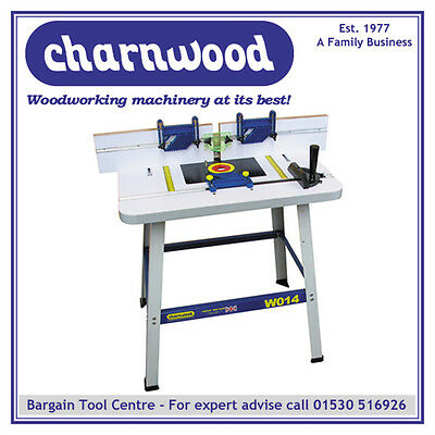 Charnwood W014 Floor Standing Universal Router Table, For All Models Of Router