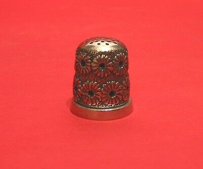 Garden Daisy Aroma Thimble Jasmine Fragrance Present Collectible Thimble