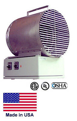PORTABLE ELECTRIC HEATER Coml/Ind - Fan Forced - Washdown - 15 kW - 480V - 3 Ph