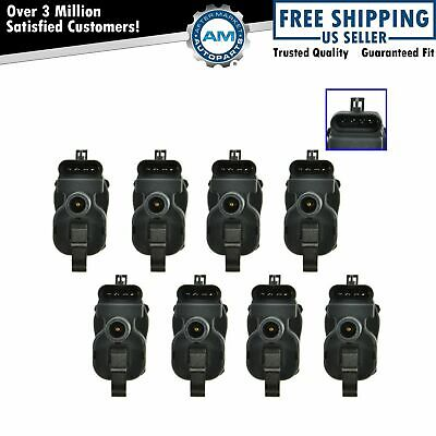 Ignition Coil Set of 8 Kit for Pontiac Chevy GMC Silverado Pickup Truck SUV Van