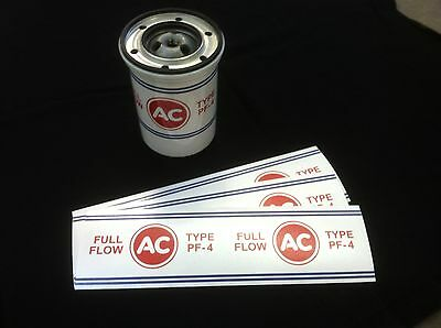 Corvair Pf-4 Ac Oil Filter Decal