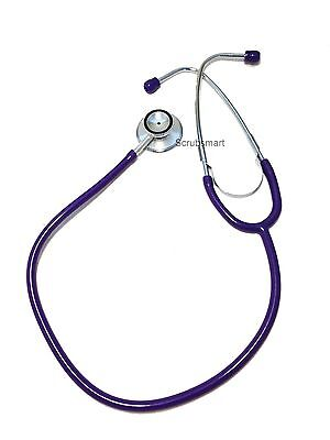 New EMI Dual Head Stethoscope Color : Purple -  US seller FAST Shipping