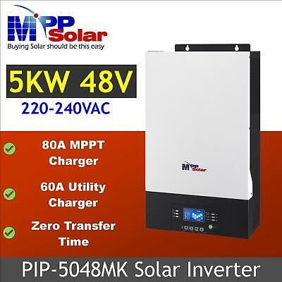 5kva 4000w 48v Solar inverter mppt solar charger 80a +60a battery charger