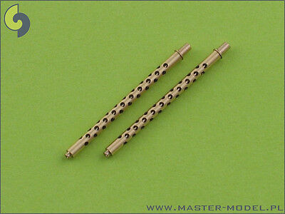 1/48 MASTER MODEL AM48001: 2 BARRELS BROWNING M2 .50 for MITCHELL LIBERATOR etc.