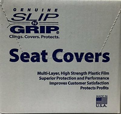 Slip N Grip Seat Covers 250 per Box Disposable Plastic Auto Seat Covers (P15)