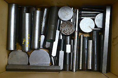 Large Lot of Steel Bar Ends / Billets Engineering Modelmakers Lathes 10KG