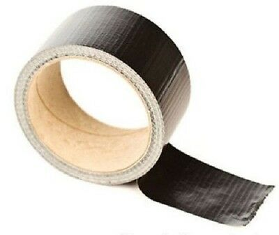 """72 Rolls General Purpose Black Strapping Acrylic Adhesive Tape 1/2"""" x 60 yards"""
