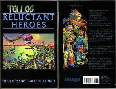 Tellos Reluctant Heroes TPB Image Comics USA 2001 Todd Dezago Mike Wieringo NM+